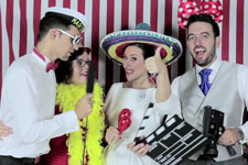 Esther + Javier Video Booth